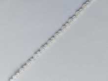 Galon poliester 5mm, cod 11, alb
