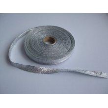Panglica argintie 10 mm