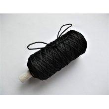 Snur Zorela 1mm - negru