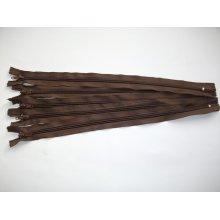 Fermoar fix 20,30,35,40 cm maro