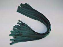 Fermoare invizibile 50 cm verde inchis, cod 272