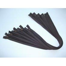 Fermoare lenjerie #3 - 50 cm maro inchis
