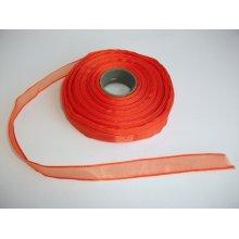 Panglica organza 10 mm - portocaliu