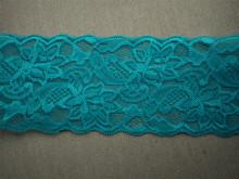 Dantela elastica bleu 8cm, cod300