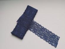 Dantela elastica bleumarin 8cm, cod300