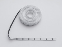 Etichete tesute 1000 buc - Marimea 42 (fond alb)