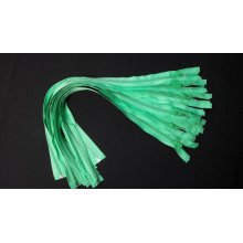 Fermoare detasabile #5 nylon 50,60,70,90 verde