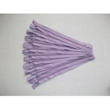 Fermoare fusta #3 - 20 cm lila