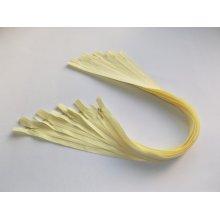 Fermoare invizibile 50 cm galben, cod109