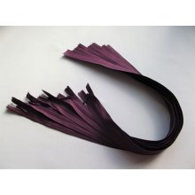 Fermoare invizibile 50 cm mov aubergine, cod180
