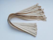 Fermoare lenjerie #3 - 50 cm bej deschis cod101