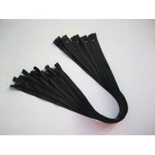 Fermoare lenjerie #3 - 50 cm negru