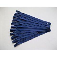 Fermoare fusta #3 - 20 cm albastru