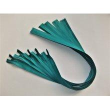 Fermoare invizibile 50 cm verde turqoise, cod275