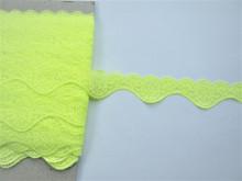 Dantela elastica galben neon 3 cm, cod176