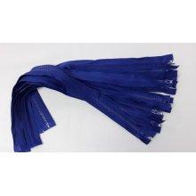 Fermoare detasabile #5 injectate 50,60,70,75,80,90 cm albastru