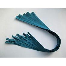 Fermoare invizibile 50 cm albastru turqoise. cod210