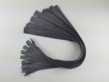 Fermoare lenjerie #3 - 50 cm gri inchis cod311