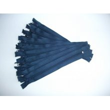 Fermoare pantaloni #5 - 20 cm bleumarin