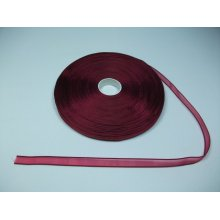 Panglica organza 10 mm - bordo