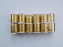 Ata metalica - auriu 12 papiote