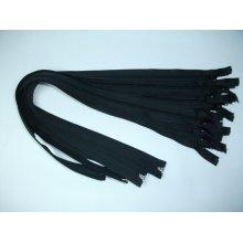 Fermoare detasabile #5 nylon 50,55,60,65,70,75,85,90 negru
