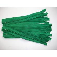 Fermoare fusta #3 - 20 cm verde
