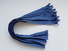 Fermoare invizibile 50 cm bleumarin deschis, cod 227