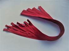 Fermoare invizibile 50 cm rosu sangeriu, cod 519