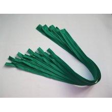 Fermoare lenjerie #3 - 50 cm verde deschis cod258