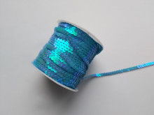 Paiete albastru deschis la rola, 6mm x 100yds