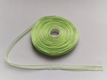 Panglica organza 10 mm - verde deschis