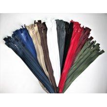 Set color fermoare detasabile #5 injectate 50,60,70,75 cm