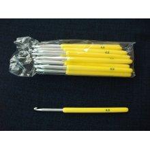 Ace croseta aluminiu - marimile 2, 2.5, 3, 3.5, 4, 4.5, 5 mm - set de 12 bucati