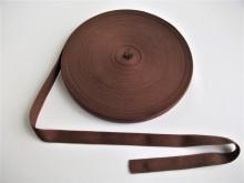 Banda bumbac 15 mm maro