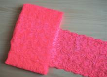 Dantela elastica roz coray 15cm, cod301