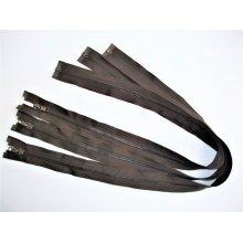 Fermoare detasabile #5 metal maro 50, 60, 70, 90 cm