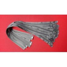 Fermoare detasabile #5 nylon 50,60,75,90 gri