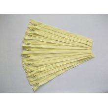 Fermoare fusta #3 - 20 cm galben