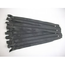 Fermoare fusta #3 - 20 cm gri inchis