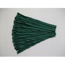 Fermoare invizibile 20 cm verde inchis