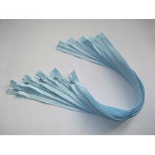 Fermoare lenjerie #3 - 50 cm bleu