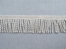 Franjuri poliester 6cm/11m ivoire