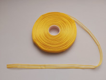 Panglica organza 10 mm - galben aprins