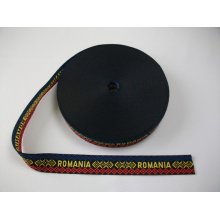 Banda tesuta Romania 25 mm