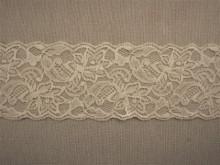 Dantela elastica ivoire 8cm, cod300
