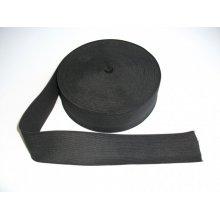 Elastic lat 80 mm negru
