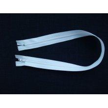 Fermoare albe lenjerie #3 - 30 cm