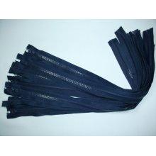 Fermoare detasabile #5 injectate 50,60,75,80,90 cm bleumarin