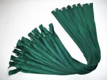 Fermoare detasabile #5 nylon 50,60,70,75, 80, 90 verde brad